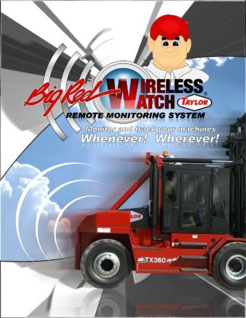 Big Red Wireless Watch Brochure - Taylor Machine Works