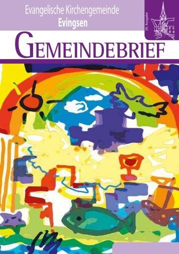 Gemeindebrief April 2011 - Evangelische Kirchengemeinde Evingsen