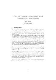 Ein exakter und effizienter Algorithmus für das orthogonale ... - ZAIK