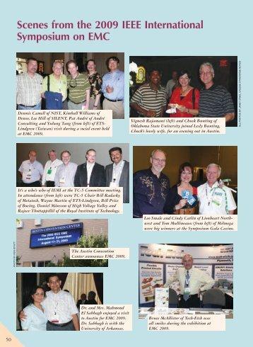 Scenes from the 2009 IEEE International Symposium on EMC