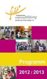 Programm - KEB Aschendorf-Hümmling