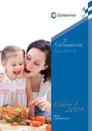 Schlemmeria Kochbuch Edition 1 2009