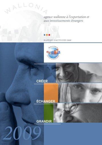 agence wallonne à l'exportation et aux investissements ... - Wallonia