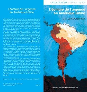 bdc_ecriture de l'urgence.indd - Réseau Amérique Latine