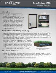 BaseStation 1000 Irrigation Controller Brochure - Baseline Systems