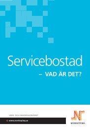 Servicebostad - vad är det? - Norrköpings kommun