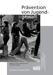 Prävention von Jugendgewalt - Kirche + Jugend