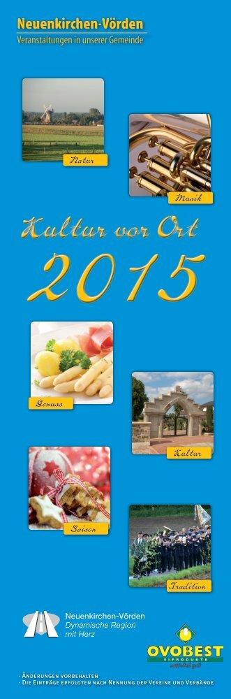 Kultur vor Ort 2015