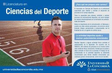 Ciencias del Deporte - Universidad La Concordia