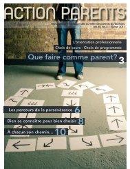 Que faire comme parent? - Fédération des comités de parents du ...