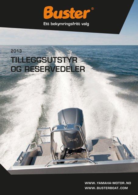 TILLEGGSUTSTYR OG RESERVEDELER - Yamaha Motor Europe