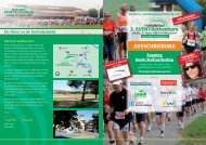 AUSSCHREIBUNG - Run & Walk EVENT-Rothenburg