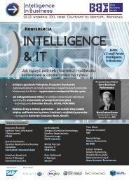 Intelligence & IT - Blue Business Media