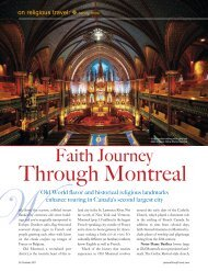 Through Montreal - Leisure Group Travel