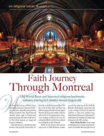 Through Montreal - Leisure Group Travel