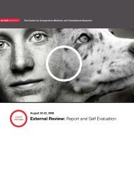 External Review: Report and Self Evaluation - North Carolina State ...