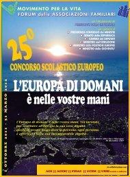 Concorso2011-2012 - Forum delle Associazioni Familiari