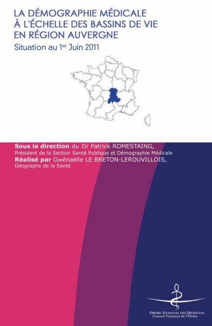 Atlas 2011 de la région Auvergne - Conseil National de l'Ordre des ...