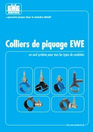 Colliers de piquage EWE