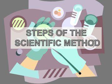 Scientific Method Monday 811 - Cobb Learning