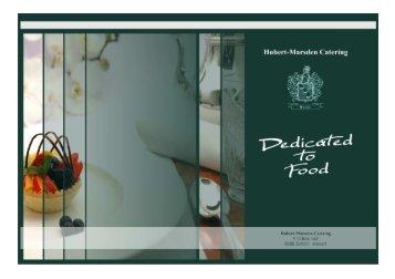 brochure - Hubert-Marsden Catering