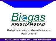 kristianstad fossil fuel free municipality