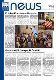 Infoblatt News Nr. 6 - Juni 2012 (PDF 673 KB) - Bezirksgemeinschaft ...