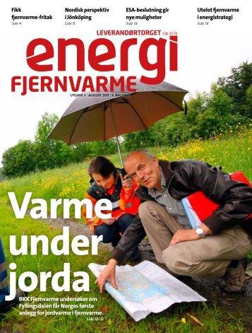 LEVERANDØRTORGET Side 33–36 - Norsk Fjernvarme