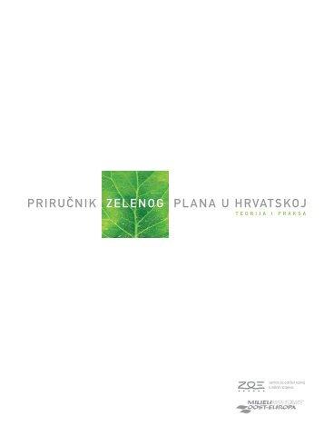 Uvod Zeleni plan u Hrvatskoj - Milieukontakt International
