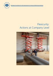 Flexicurity: Actions at Company Level - Eurofound - Europa
