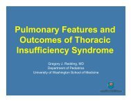 Thoracic Insufficiency Syndrome