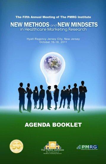 agenda booklet full online version - PMRG