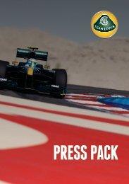 PRESS PACK - Research Racing