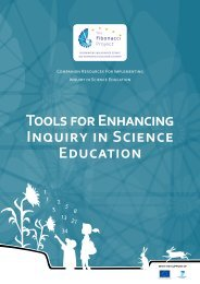 Tools for Enhancing Inquiry in Science Education - Fibonacci-Project