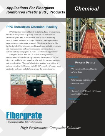 Chemical Facility - Powerstrut