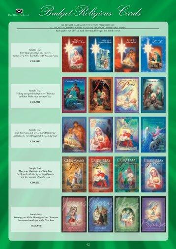 Budget Religious Cards Budget - Christian Supplies