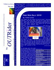 OUTRIDER May 2010.pub - Student Affairs