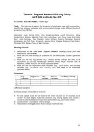 Theme 4: Targeted Research Working Group thods (May 22) joint ...