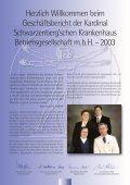 Geschäftsbericht 2003 - Kardinal Schwarzenberg'sches ... - Seite 3