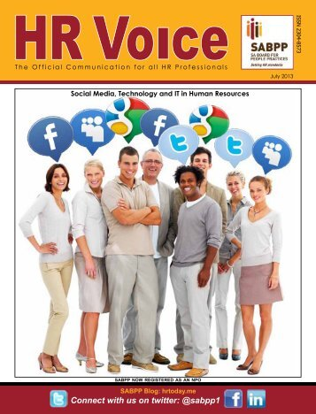 HR Voice July 2013 Newletter Download - SABPP