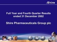 FY 2002 - Shire