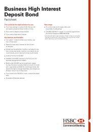 Guarantee application form - Business banking - HSBC