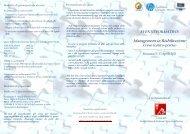 Programma - Fondazione S. Angela Merici
