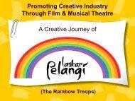 Promoting Creative Industry Through Film & Musical Theatre