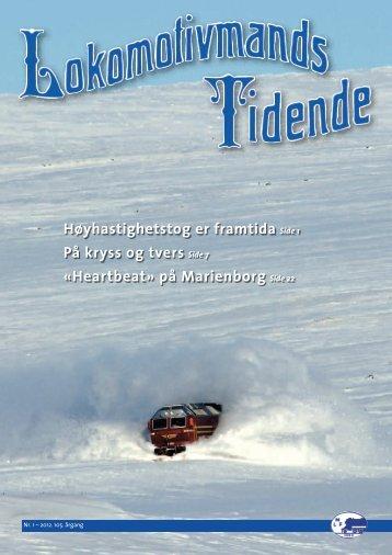 1 - Norsk Lokomotivmannsforbund