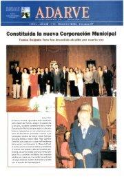 Constituida la nueva Corporación Municipal - Periódico Adarve