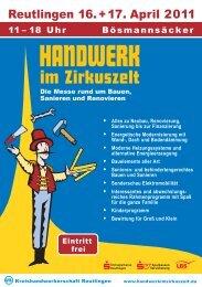 HANDWERK - KlimaschutzAgentur Landkreis Reutlingen