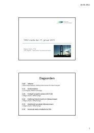 Præsentation - Transportens Innovationsnetværk