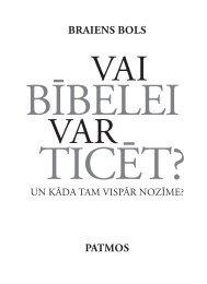 Vai Bībelei var ticēt? - Rīgas 1. draudze