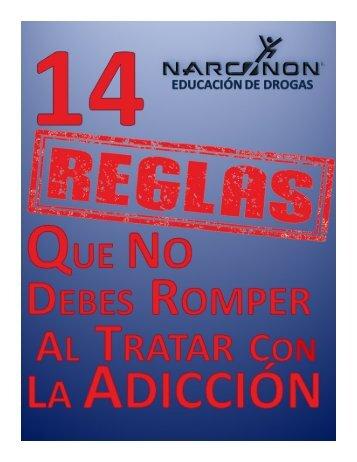 CATORCE REGLAS NARCONON CANCUN